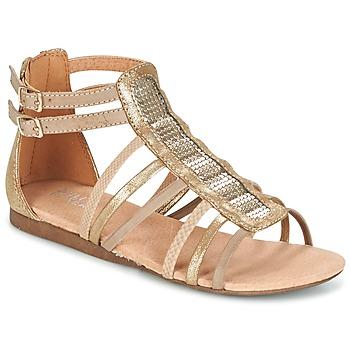Schoenen Meisjes Sandalen / Open schoenen Bullboxer JEZIANA Goud
