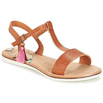 Schoenen Dames Sandalen / Open schoenen Coolway MONKY Bruin