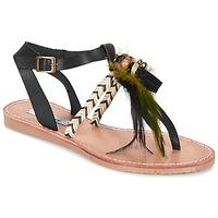 Schoenen Dames Sandalen / Open schoenen Coolway MELROSE Zwart