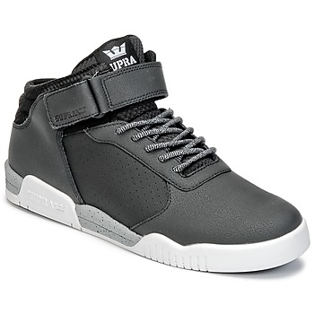 Schoenen Heren Hoge sneakers Supra ELLINGTON STRAP Zwart