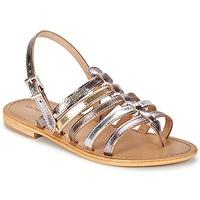 Schoenen Dames Sandalen / Open schoenen Les Tropéziennes par M Belarbi HERISSON Zilver / Multi