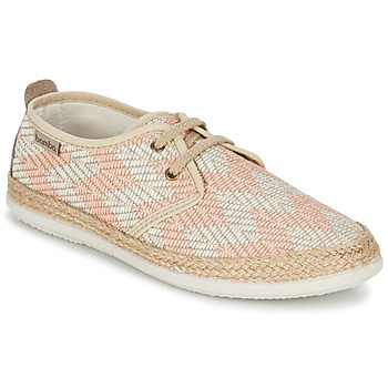 Schoenen Dames Lage sneakers Bamba By Victoria BLUCHER TEJIDO ZIG-ZAG Zalm