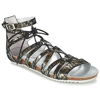 Schoenen Dames Sandalen / Open schoenen Regard RABAZO Zwart / Zilver