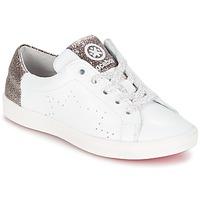 Schoenen Meisjes Lage sneakers Acebo's SOUDIN Wit