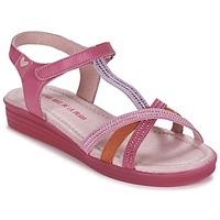 Schoenen Meisjes Sandalen / Open schoenen Agatha Ruiz de la Prada BINETTE Roze