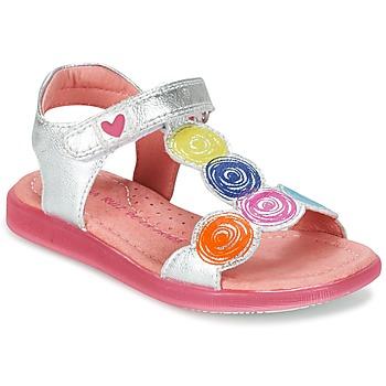 Schoenen Meisjes Sandalen / Open schoenen Agatha Ruiz de la Prada BIDINETTE Zilver