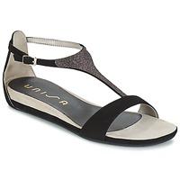 Schoenen Dames Sandalen / Open schoenen Unisa APICE Zwart