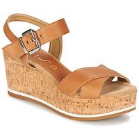 Schoenen Dames Sandalen / Open schoenen Unisa KARPI Beige