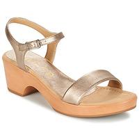 Schoenen Dames Sandalen / Open schoenen Unisa IRITA Goud