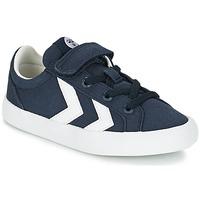 Schoenen Kinderen Lage sneakers Hummel DEUCE COURT JR Blauw