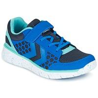 Schoenen Kinderen Lage sneakers Hummel CROSSLITE JR Blauw