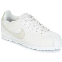 Schoenen Meisjes Lage sneakers Nike CORTEZ LEATHER SE JUNIOR Beige