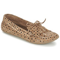 Schoenen Dames Mocassins Ippon Vintage MOC POINTS Taupe