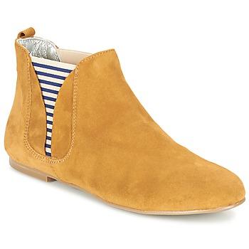 Schoenen Dames Laarzen Ippon Vintage SUN FLYBOAT Oker