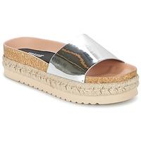 Schoenen Dames Leren slippers MTNG MERCOL Zilver