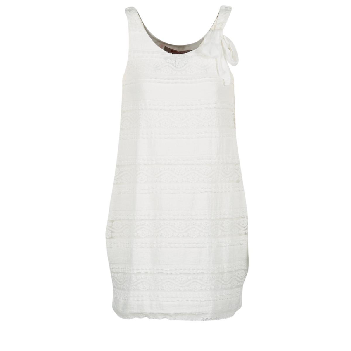 Desigual korte jurk keraso wit