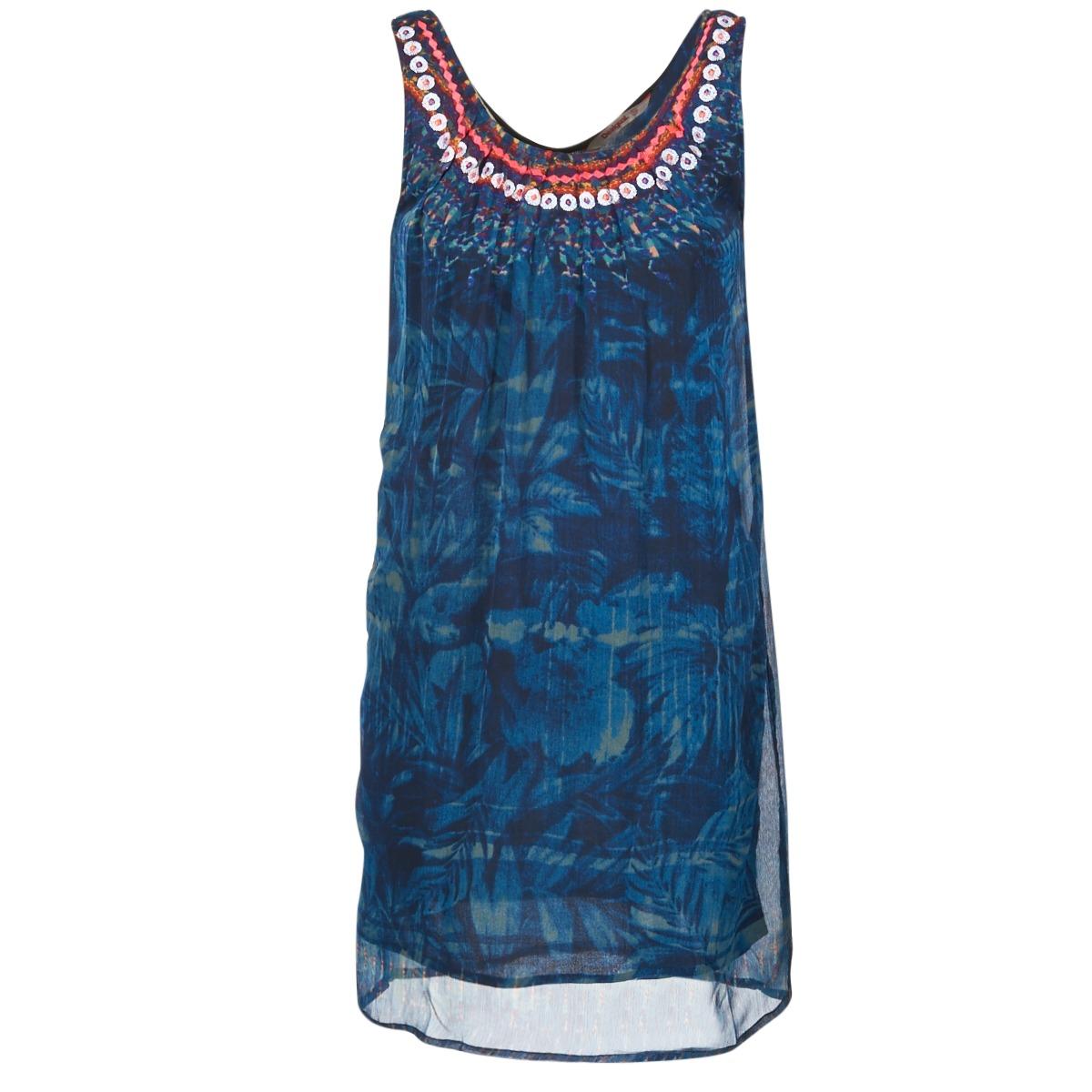 Desigual korte jurk liorise blauw