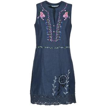 Textiel Dames Korte jurken Desigual LIORASE Blauw