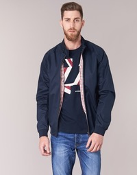 Textiel Heren Wind jackets Ben Sherman HARRINGTON Marine