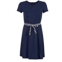 Textiel Dames Korte jurken Petit Bateau FLARE Marine