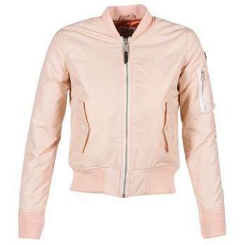 Textiel Dames Wind jackets Schott BOMBER BY SCHOTT Roze