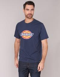 Textiel Heren T-shirts korte mouwen Dickies HORSESHOE TEE Marine