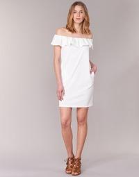 Textiel Dames Korte jurken See U Soon 7123017 Wit