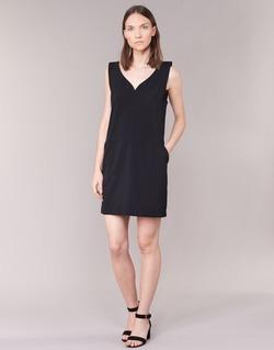 Textiel Dames Korte jurken See U Soon 7121047 Zwart