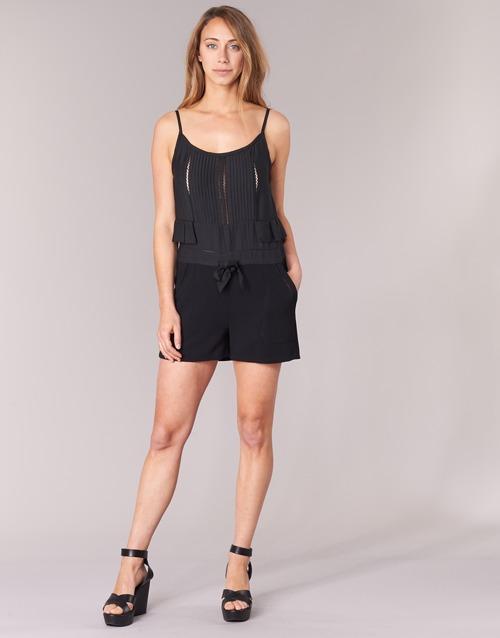 Textiel Dames Jumpsuites / Tuinbroeken See U Soon 7191003 Zwart