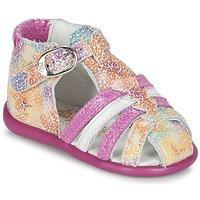 Schoenen Meisjes Sandalen / Open schoenen Babybotte GUPPY Roze / Multi