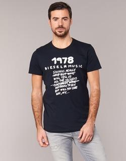 Textiel Heren T-shirts korte mouwen Diesel T DIEGO NB Zwart