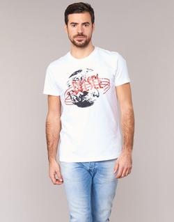 Textiel Heren T-shirts korte mouwen Diesel T DIEGO NC Wit