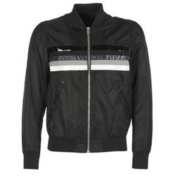 Textiel Heren Wind jackets Diesel J SLATER Zwart