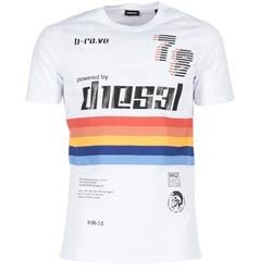 Textiel Heren T-shirts korte mouwen Diesel T JOE OB Wit
