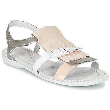 Schoenen Dames Sandalen / Open schoenen Pataugas CANDY/V F2C Wit / Grijs / Roze