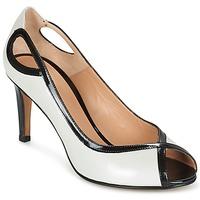 Schoenen Dames pumps Perlato FEJILI Wit / Zwart