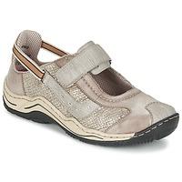 Schoenen Dames Lage sneakers Rieker BIOLORATEIL Taupe