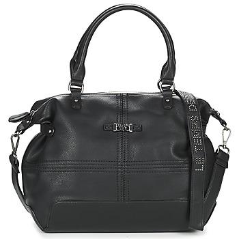 Tassen Dames Handtassen kort hengsel Le Temps des Cerises LOOPITA 1 Zwart