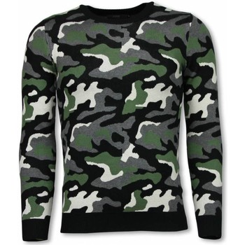 Textiel Heren Sweaters / Sweatshirts John H Military Trui - Camouflage Pullover 25