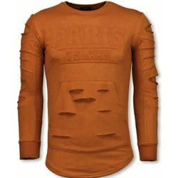 Textiel Heren Sweaters / Sweatshirts John H 3D Stamp PARIS Trui - Damaged Sweater 7