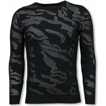 Textiel Heren Sweaters / Sweatshirts John H 3D Camouflage Patroon Trui - Neon Pullover 1