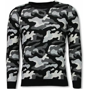 Textiel Heren Sweaters / Sweatshirts John H Military Trui - Camouflage Pullover 35