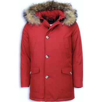 Textiel Heren Parka jassen Enos Bontjassen - Heren Winterjas Wooly Lang - Grote XL Bontkraag - P 8