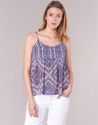 Textiel Dames Tops / Blousjes Pepe jeans MERY Blauw / Roze