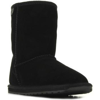 Schoenen Meisjes Laarzen EMU Wallaby Lo Noir Zwart
