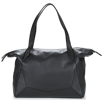 Tassen Dames Handtassen lang hengsel Texier EMMA Zwart