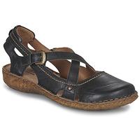 Schoenen Dames Sandalen / Open schoenen Josef Seibel ROSALIE 13 Zwart
