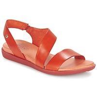 Schoenen Dames Sandalen / Open schoenen Pikolinos ANTILLAS W0H Rood