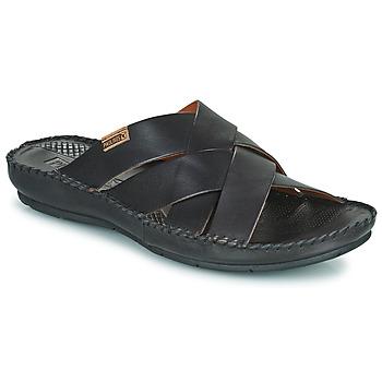 Schoenen Heren Leren slippers Pikolinos TARIFA 06J Zwart