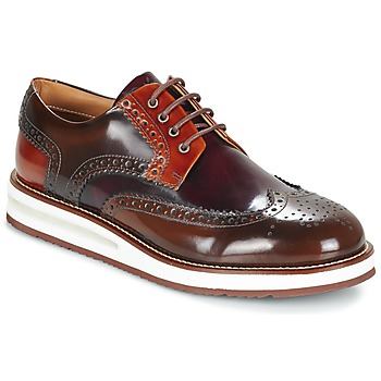 Schoenen Heren Derby Barleycorn AIR BROGUE Bruin / Bordeau